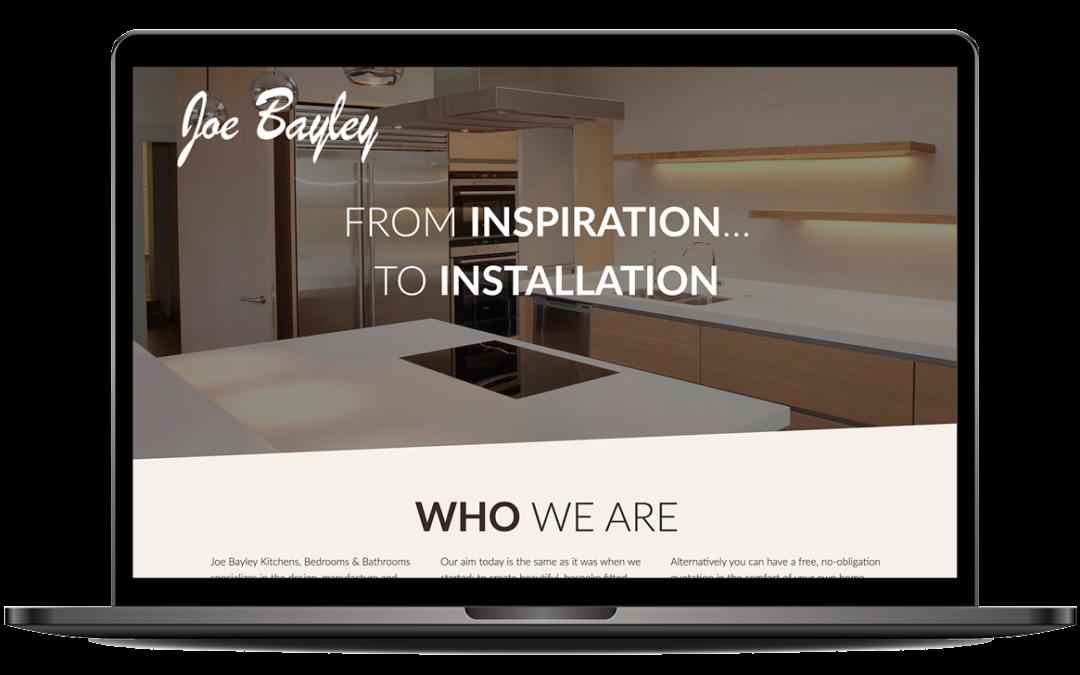 Joe Bayley · Kitchens, Bedrooms & Bathrooms